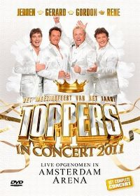 Cover Jeroen - Gerard - Gordon - Rene - Toppers In Concert 2011 [DVD]